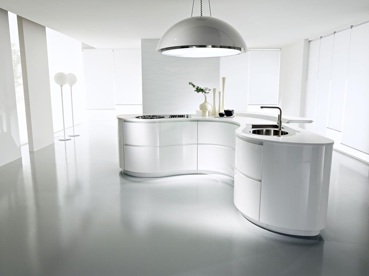 кухня круг