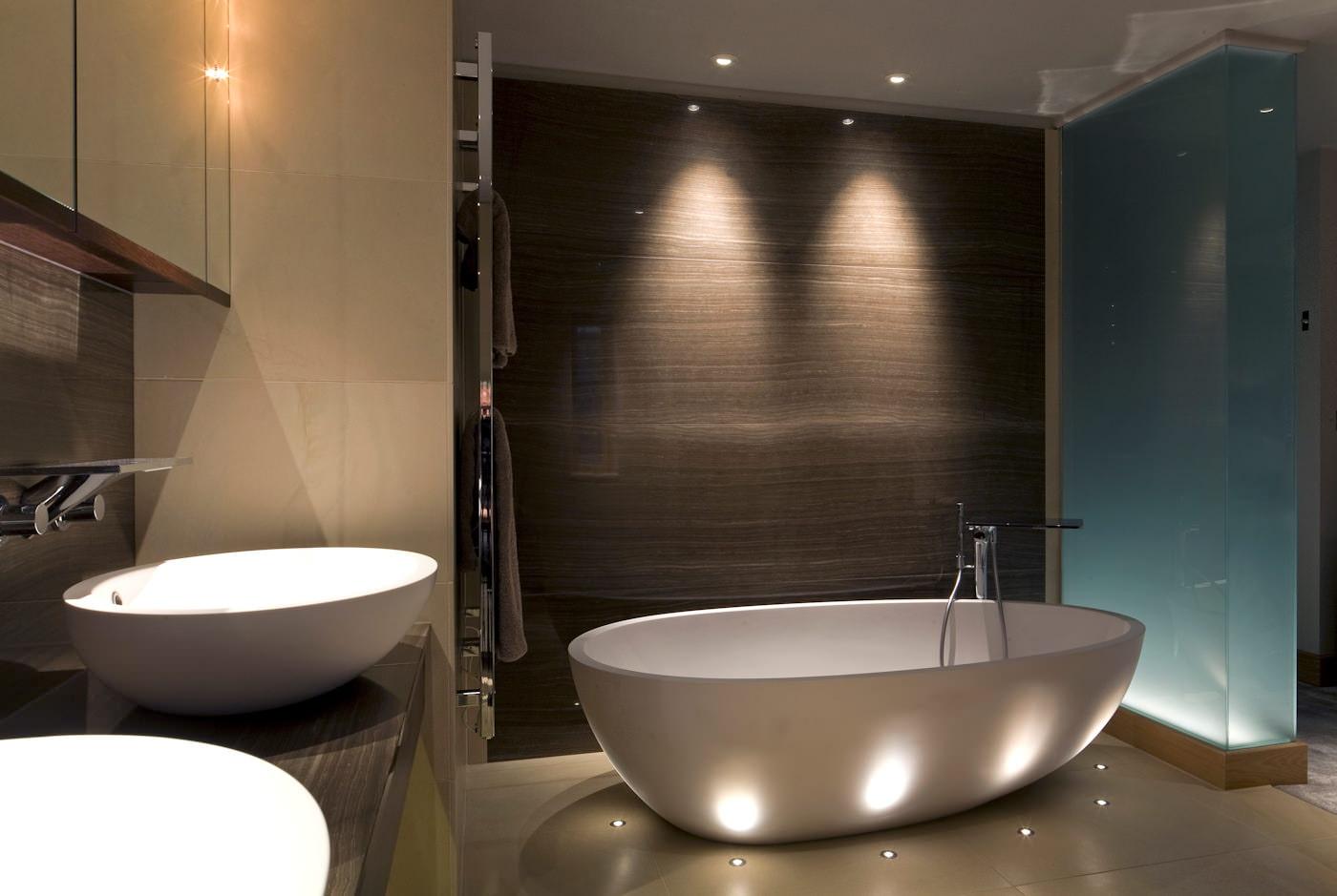 освещение для ванны
