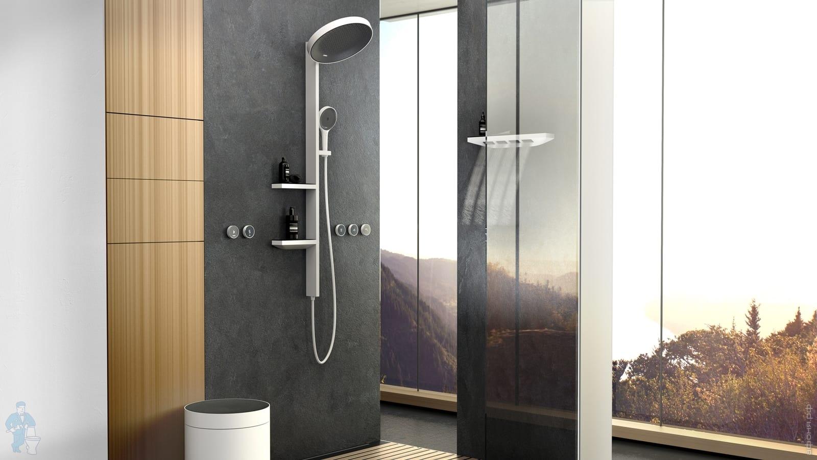 лейка для душа в ванную