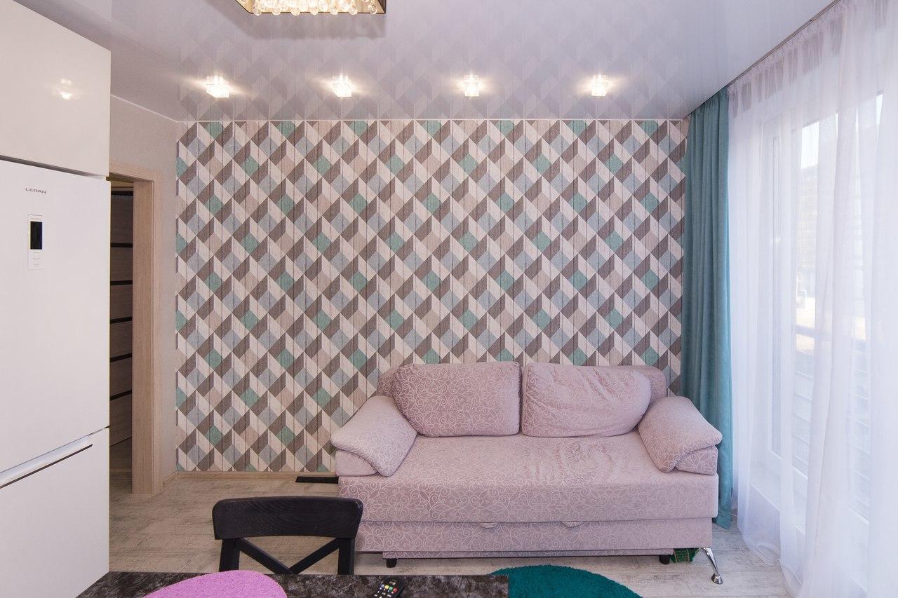дизайн однокомнатной квартиры 40